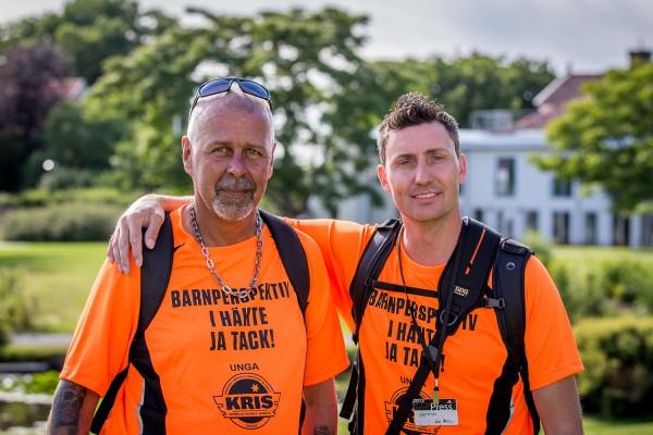 Vägen UTs reportrar Roger Karlsson-Uhrman (Redaktör) och Joakim Berndes (Fotograf)