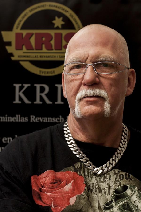 Christer Karlsson, Förbundsordförande KRIS. Foto: Joakim Berndes