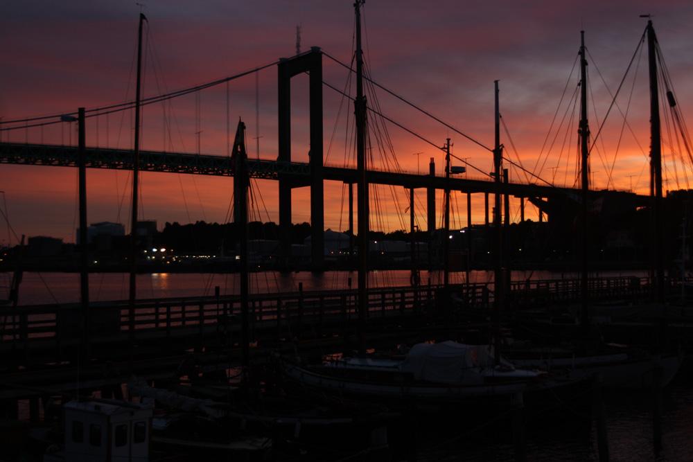 "Foto: ""Göteborg harbor Älvsborgsbron - The Älvsborg Bridge"" by Blondinrikard Fröberg. (CC BY 2.0) Some rights reserved"
