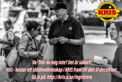 Kampanj Stödmedlem 2016