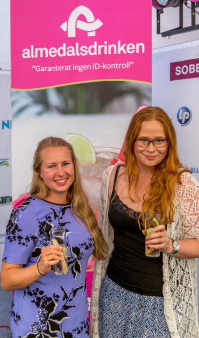 Linda Engström från IOGT-NTO och Jessica Schedvin från Makthavare. Foto: Joakim Berndes