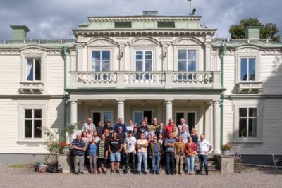 Deltagare, lärare, pedagoger och referensgruppen samlad vid projektstarten av KRIS Livsstilskoordinator.