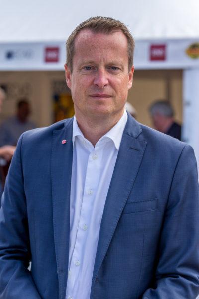 Anders Ygeman efter intervjun med Christer. Foto: Joakim Berndes