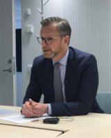 Mikael Damberg om rollen som ny Inrikesminister